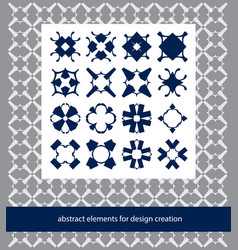 suits for branding logo or patterns stylish vector image vector image