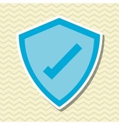 Cyber security antivirus design vector