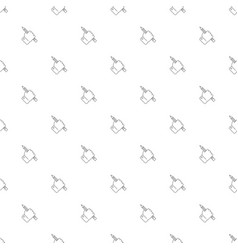 Hand draw background from line icon vector