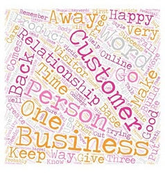It is Personal It s Business text background vector image vector image