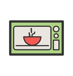 Microwave Oven vector image vector image