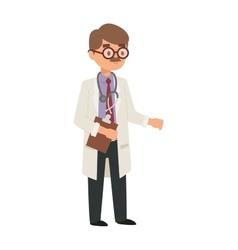 Doctor cartoon vector