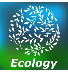 High quality original of Ecology for vector image vector image