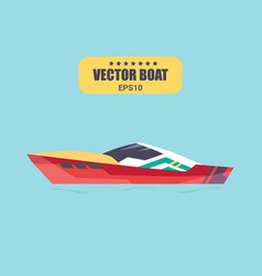 ship at sea transport shipping boats vector image