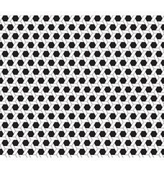 hexagon seamless background vector image vector image