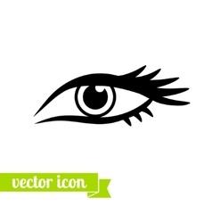 Eye icon 4 vector