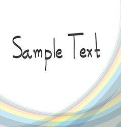 Abstract Background soft line vector image
