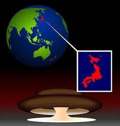 global radioactive vector image vector image
