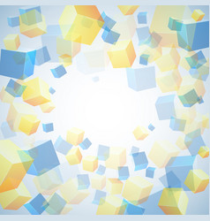 abstract background multicolored for design vector image vector image