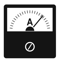 Counter icon simple style vector