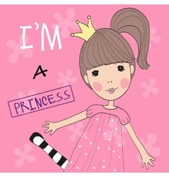Cute Princess vector image