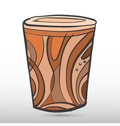 cylindricalArt vector image