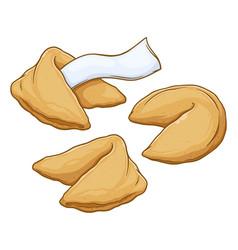 Fortune cookies vector