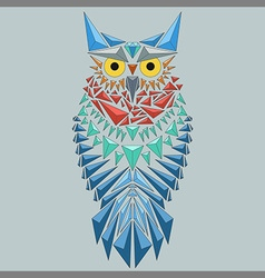 Geometric owl vector
