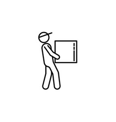 loader box signs and symbols can be used for web vector image