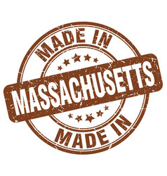 Made in massachusetts vector