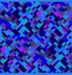 Seamless colorful diagonal geometric pattern vector
