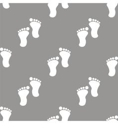 Tracks seamless pattern vector image