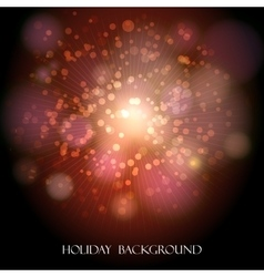 Festive Holiday Background vector image vector image
