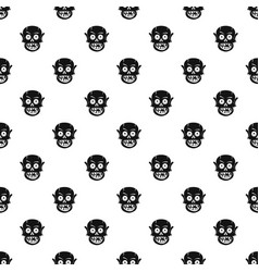 living dead pattern vector image vector image