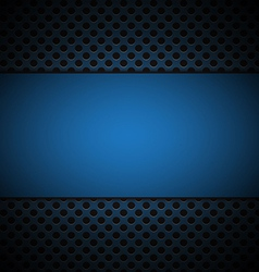 blue grill texture background vector image