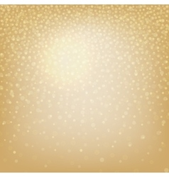 Christmas background with bokeh elements vector image