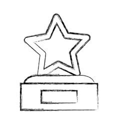 award trophy icon vector image