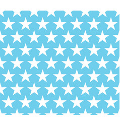 cute blue pattern vector image