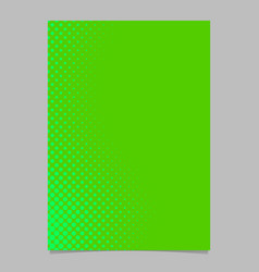 Halftone circle pattern background brochure vector