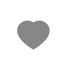 heart icon love symbol valentine s day vector image