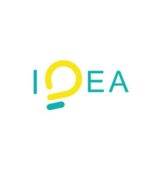 idea logo-01 vector image