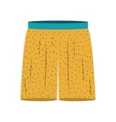 Large men swimming trunks icon vector