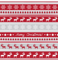 Seamless Christmas background1 vector image