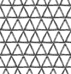 seamless pattern with a triangle vector image