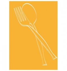 restaurant theme vector image vector image