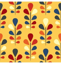 Abstract seamless floral pattern Eps 8 vector image