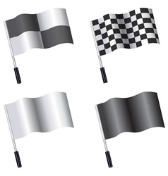 flag template vector image vector image