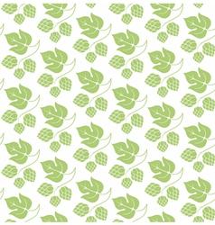 Floral pattern Hop vector image vector image