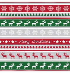 Seamless Christmas background2 vector image
