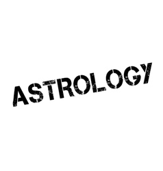 Astrology rubber stamp vector