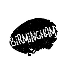 Birmingham rubber stamp vector