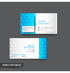 Business Card template set 047 vector image