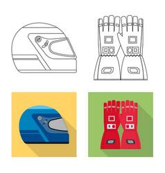 Car and rally logo set vector