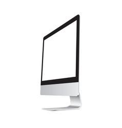 computer dekstop vector image