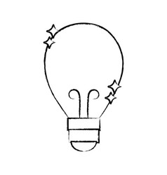 Figure bulb power electric energy to illuminate vector