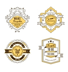 Four Label Set vector