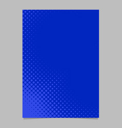 geometrical halftone dot background pattern flyer vector image