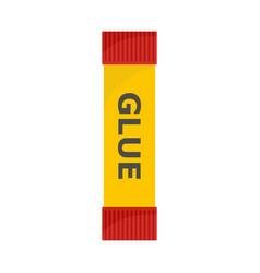 Glue stick icon flat style vector