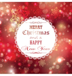 merry christmas background 1909 vector image