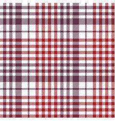 Seamless check fabric texture tablecloth pattern vector